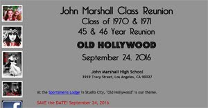 Marshall Class Reunion website