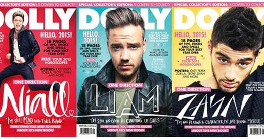 One Direction interview with Dolly Magazine (Australia) #DOLLY1D