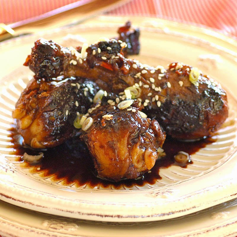 Savoring Time in the Kitchen: Glazed Asian Drumsticks