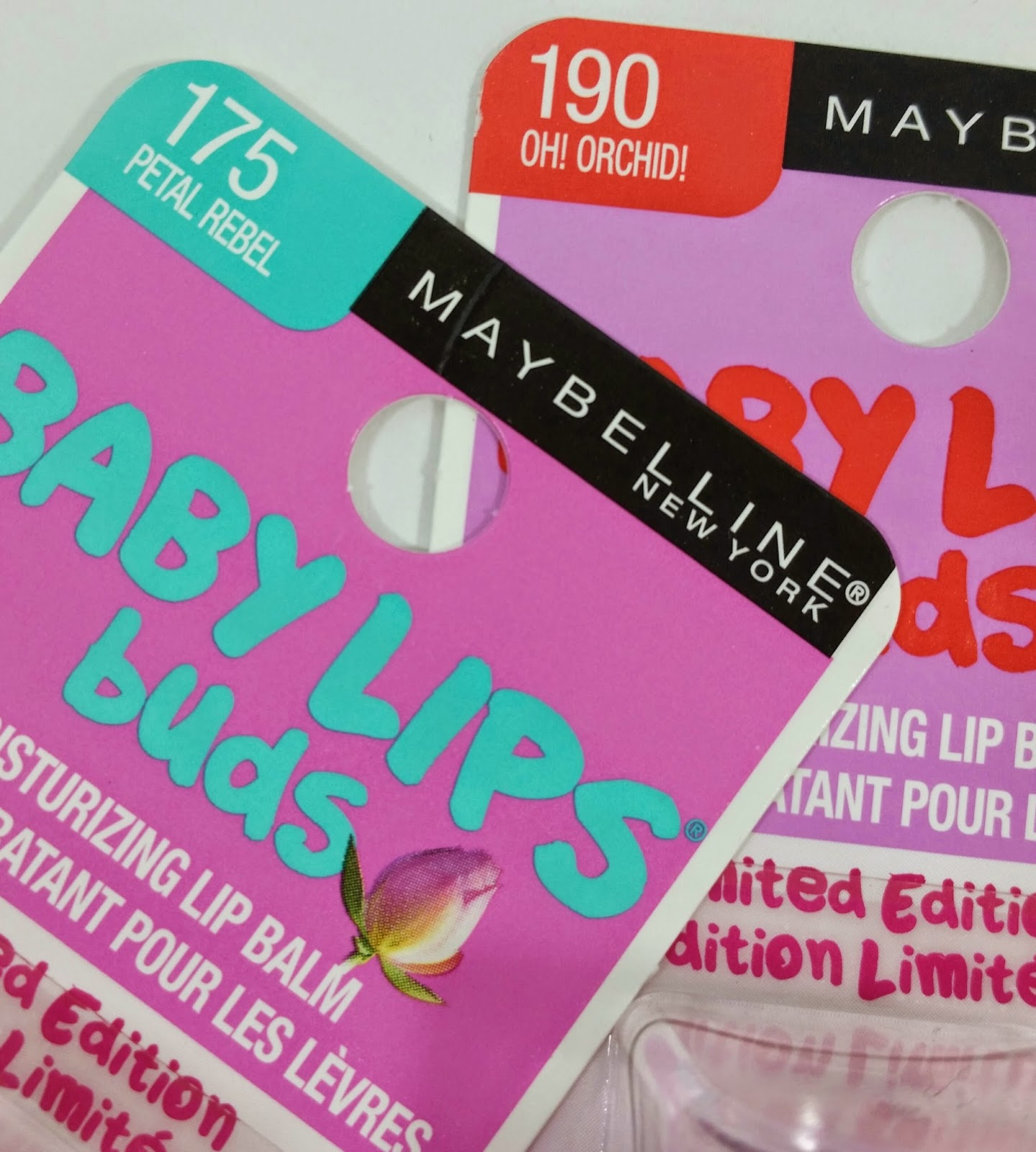 Baby Lips Buds Swatches
