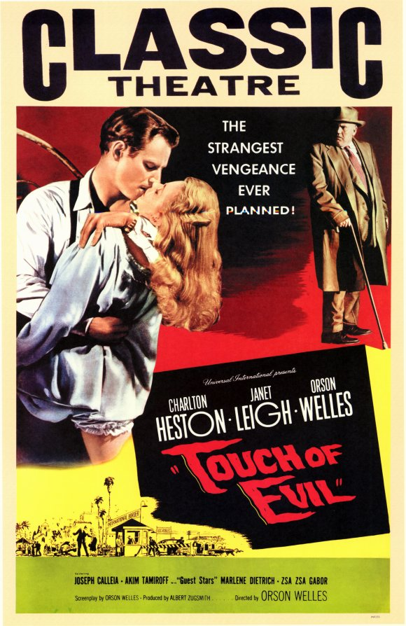 the techniques of cinematography in touch of evil a film by orson welles