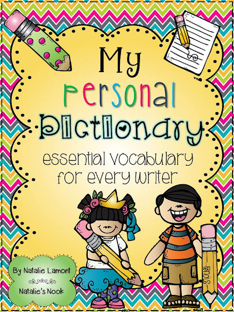 Natalie's Nook: Personal Dictionary Update