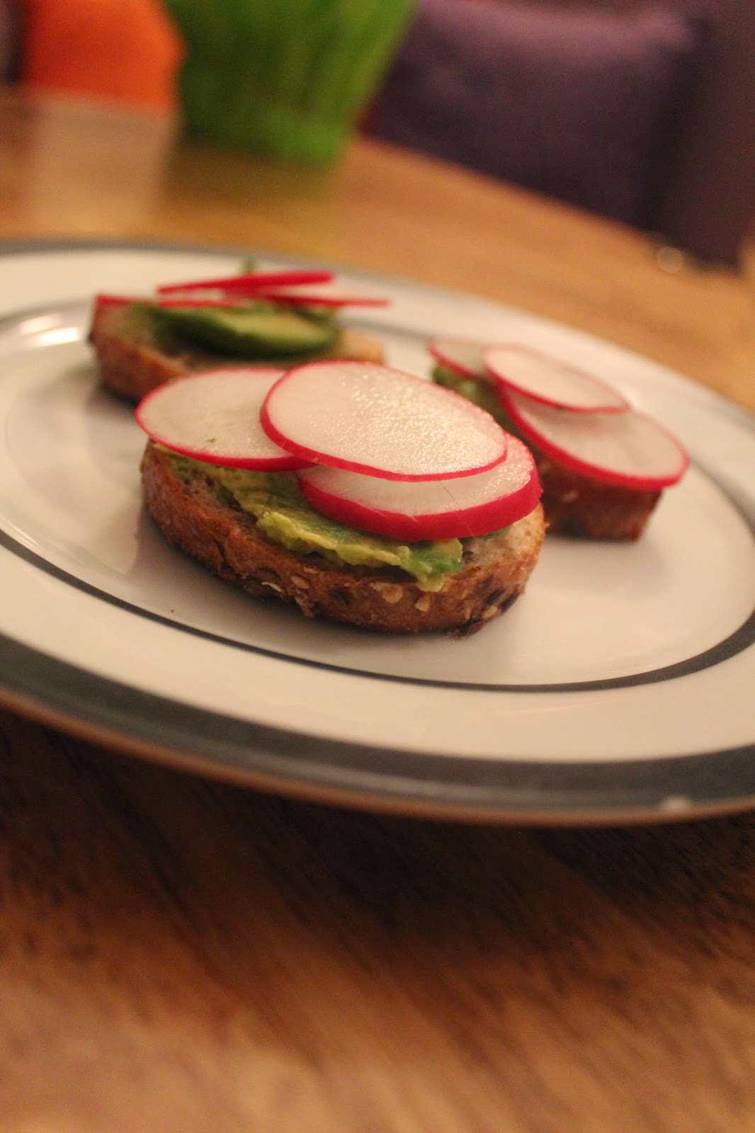 Nature as Measure: Radish and Avocado Tartine
