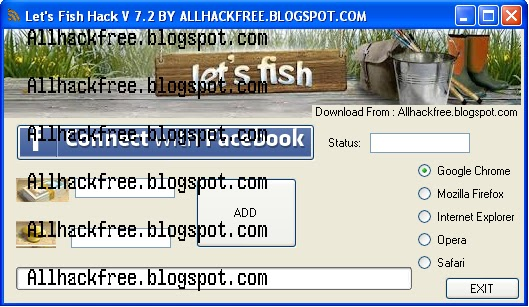 New Let's Fish v7.2 HACK