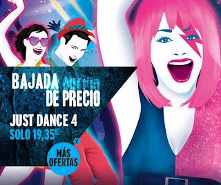 Just Dance 4 a muy buen precio