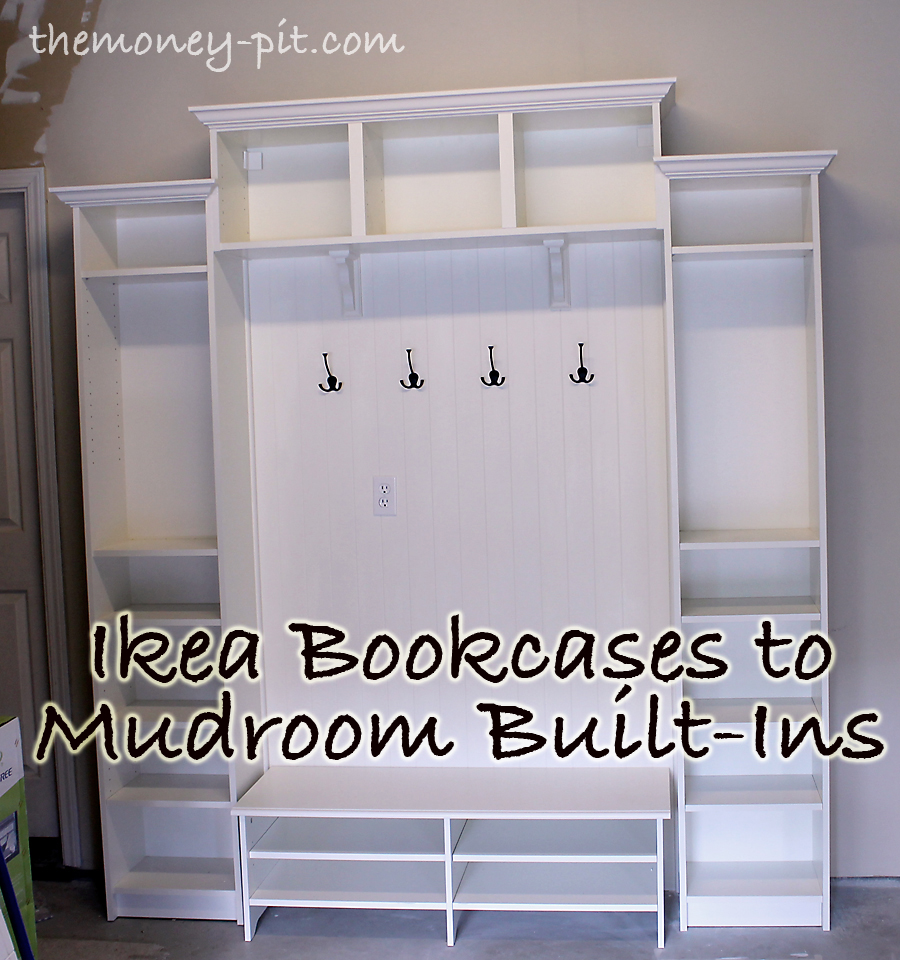 adding mudroom built ins to the garage the kim six fix On garage mudroom plans