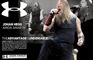 Johan Hegg of AMON AMARTH for Underarmor