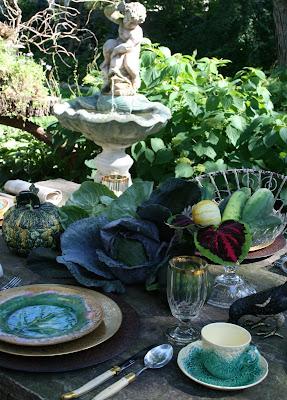 Romancing The Home Vegetable Garden Table Design