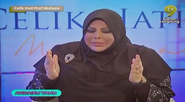 isu Jangan Keluarkan Gambar Tak Berhijab di Media Sharifah Aini