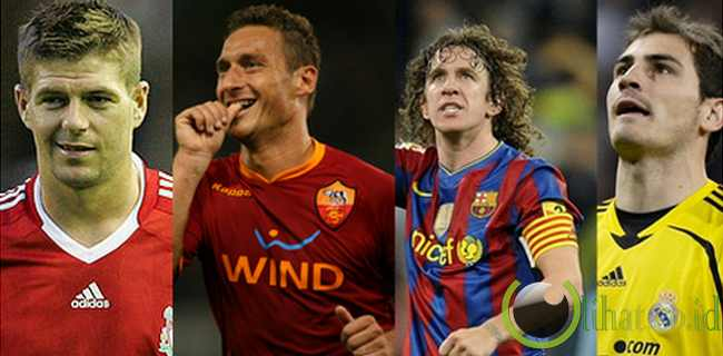 10 Pemain Sepakbola yang Bertahan dalam Satu Klub sampai Kini