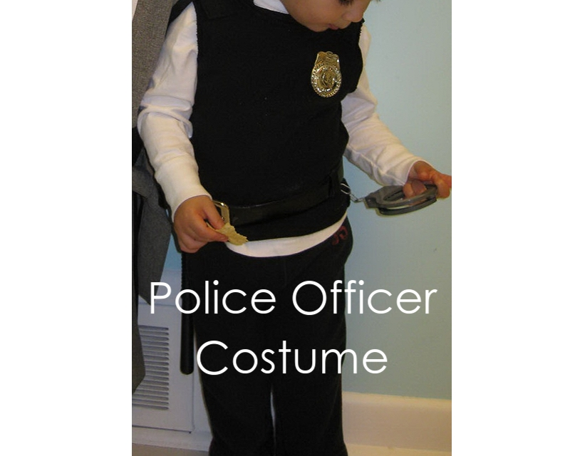 My handmade home diy police officer costume last minute solutioingenieria Images