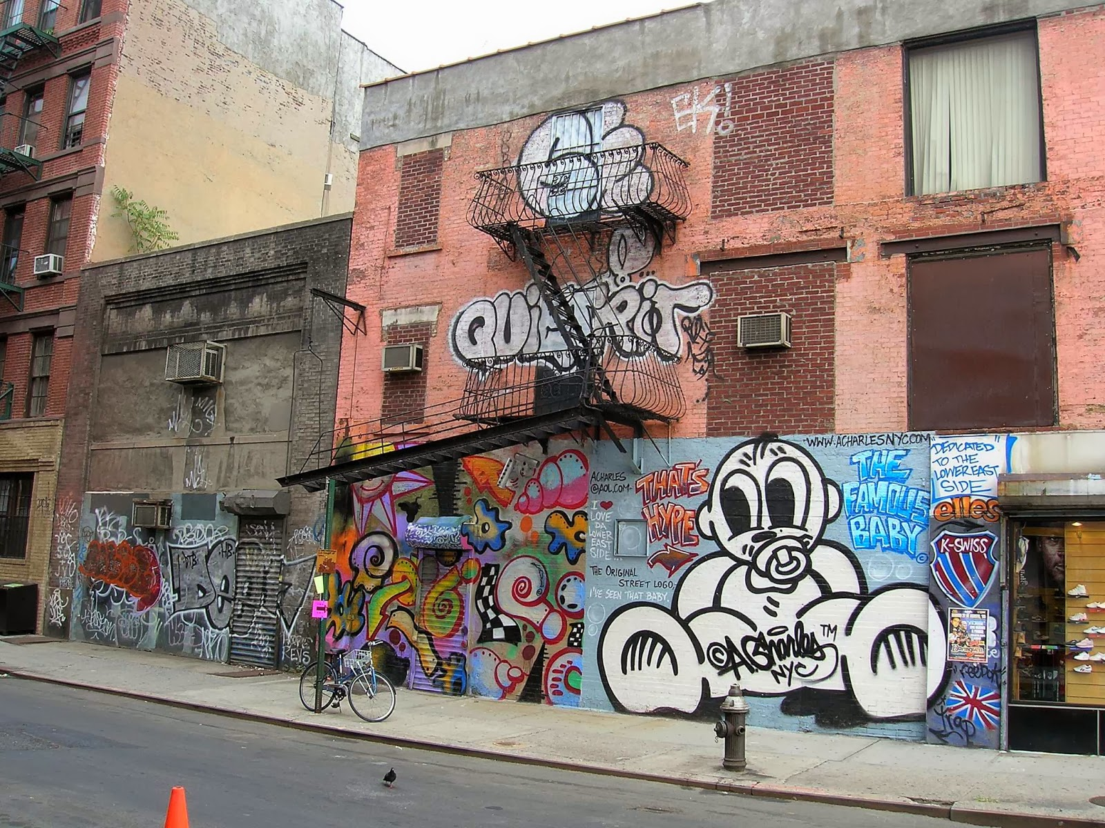 Graffiti Wall Graffiti NYC