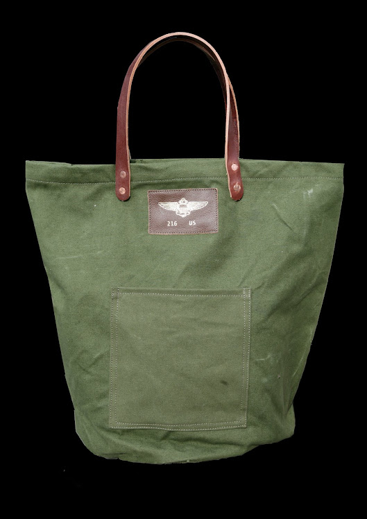 OLIVE DRAB AVIATOR HOLDALL