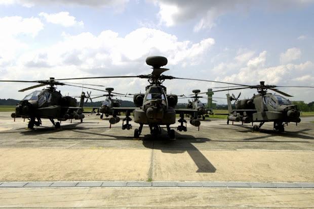 Helikopter Tempur AH-64 Apache. PROKIMAL ONLINE Kotabumi Lampung Utara