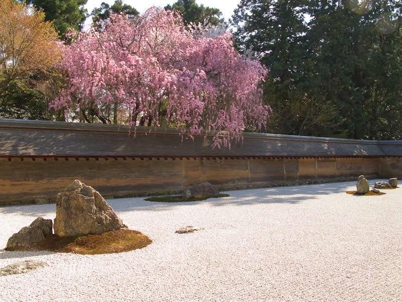 L 39 arte della composizione del giardino zen a momento in - Composizione giardino ...