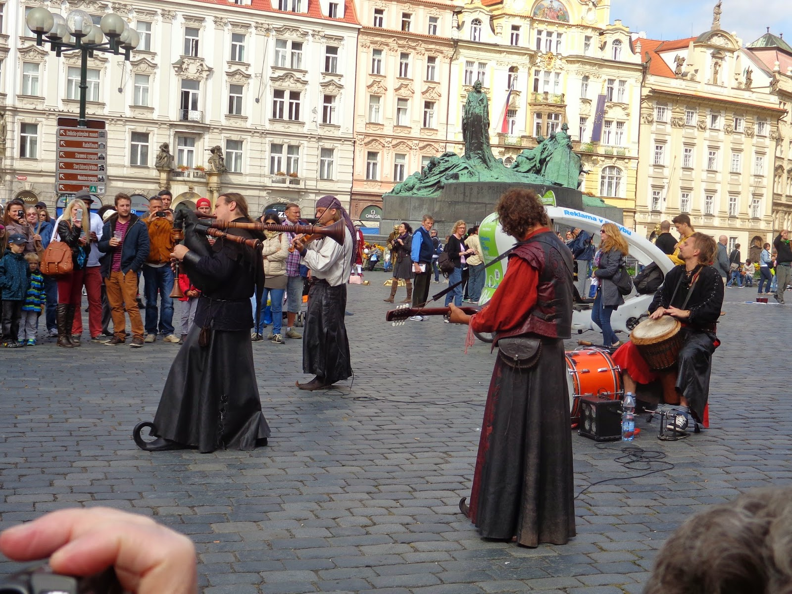 Music, Old Town, Prague