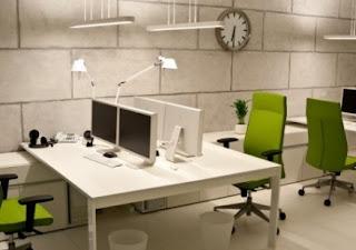 ruang kerja kantor