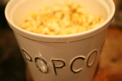 Hjemmepoppet popcorn