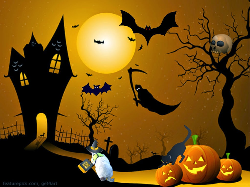 Twas The Night Before Halloween.....Not Any More!Happy Halloween!