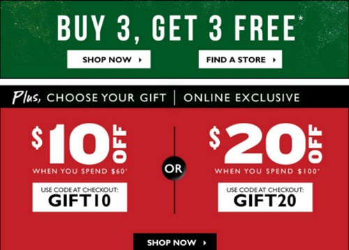 The Body Shop Buy 3 Get 3 Free + $10 Off $60 Or $20 Off $100 Promo Codes