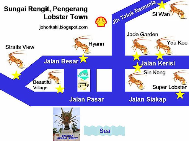 Sungai-Rengit-Pengerang-Johor-Map