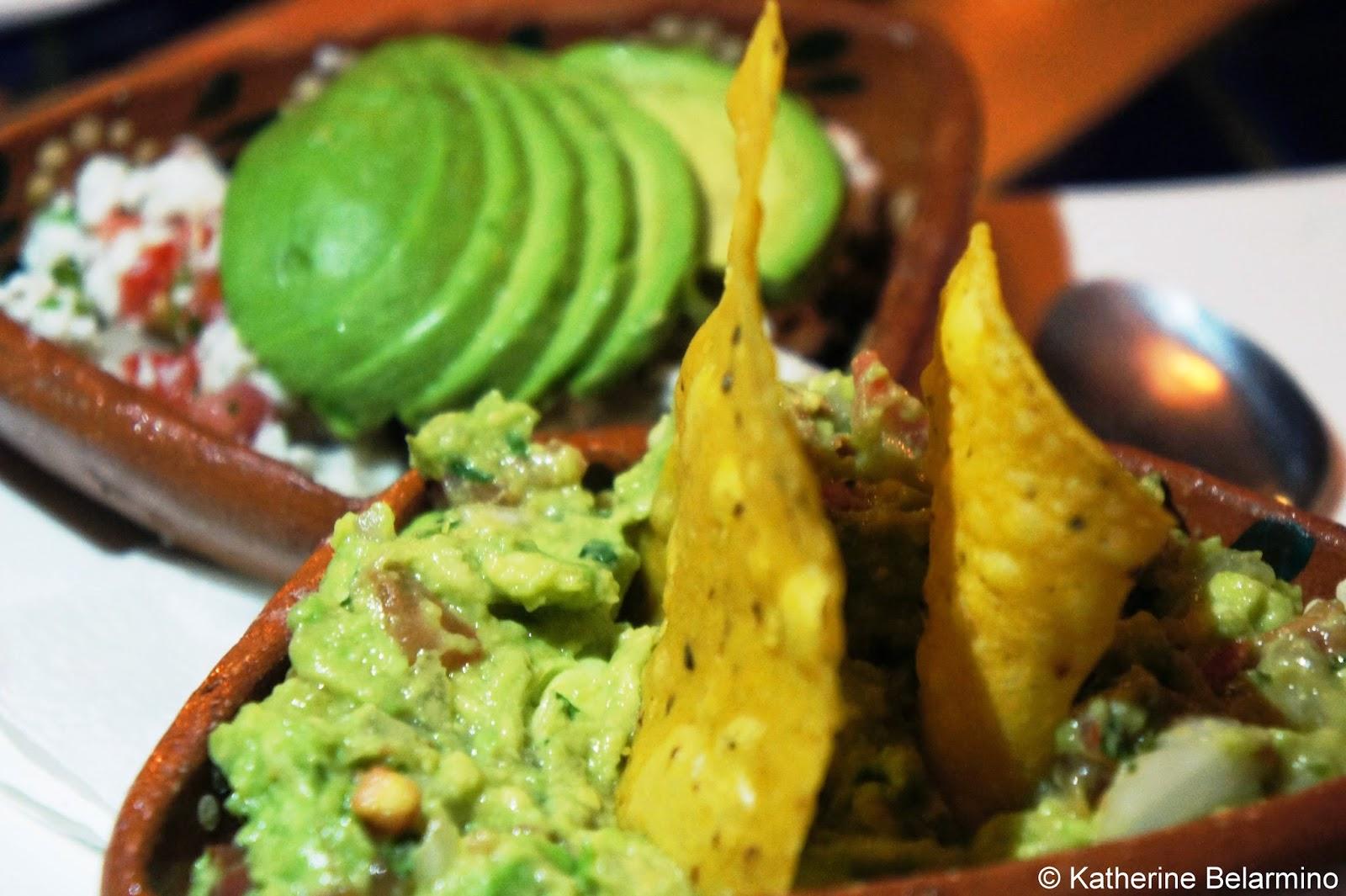 Guacamole and Ceviche at La Casa Del Pescador Puerto Nuevo Baja California Mexico