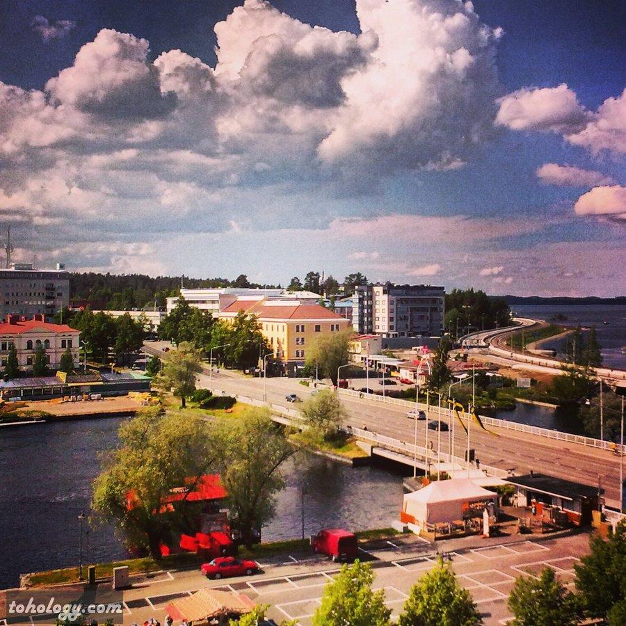 Harbor in Savonlinna