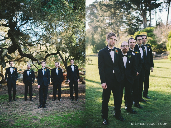 """san francisco wedding photography groom and groomsmen"""