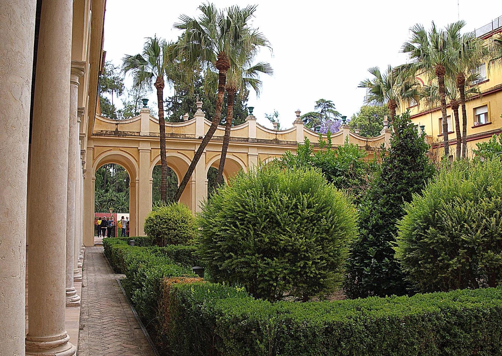 Leyendas de sevilla reales alc zares de sevilla vii for Jardines del eden sevilla