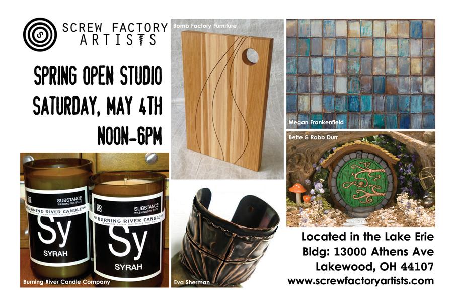 Lakewood Screw Factory Open Studio Toistudio Llc
