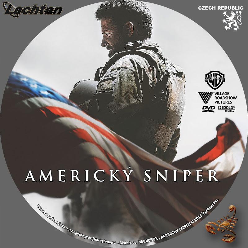 Label DVD American Sniper