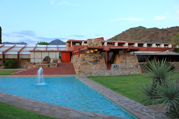 frank lloyd wright taliesin west