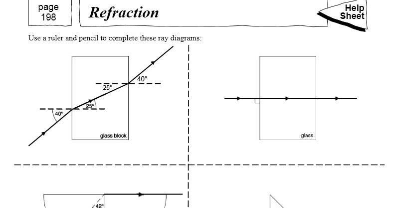 Worksheets Refraction Worksheet refraction worksheet sharebrowse delibertad