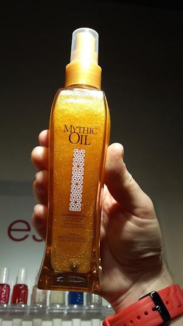 Huile Pailletée Cheveux et Corps by Mythic Oil de L'Oréal