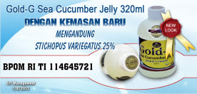Obat Maag Kronis Jelly Gamat Gold-G