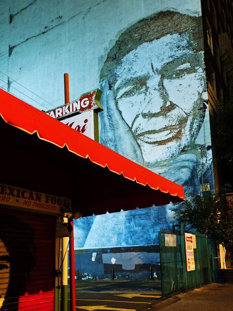 Mural on South Spring, Los Angeles (C)2012 Glenn Primm Photography