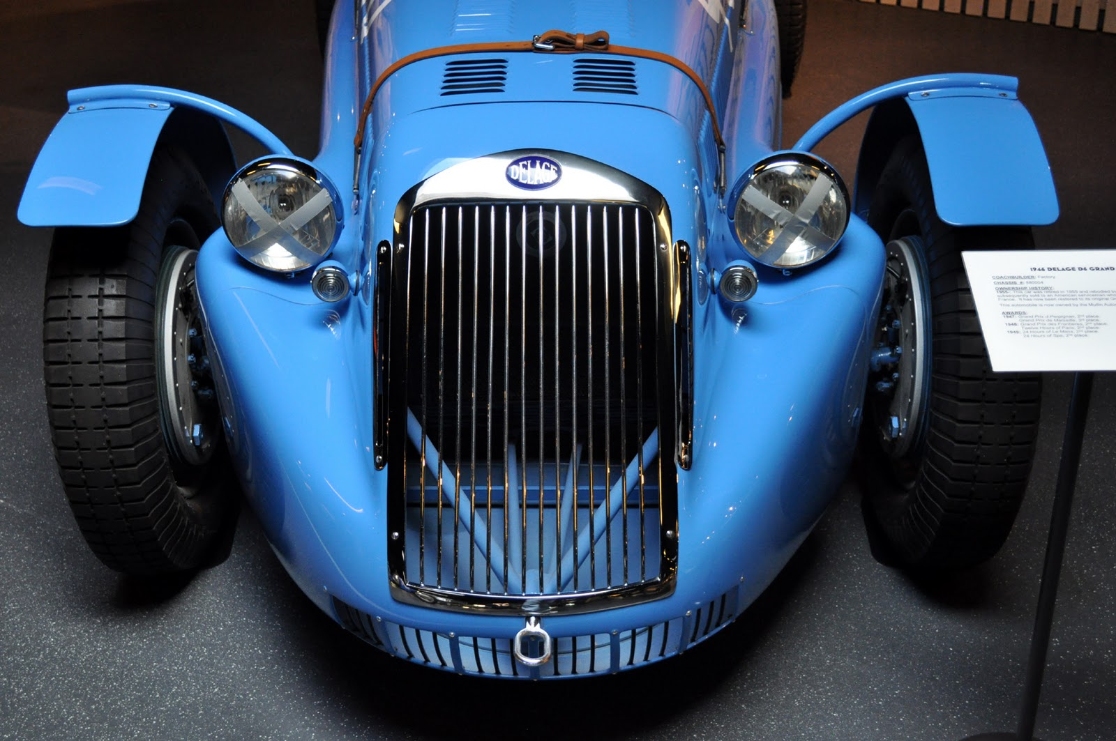 Just a car guy   1946 Delage D6 factory Grand Prix race car that
