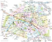 La RATP ayant refusé la libre disposition de son plan du métro, . (plan metro paris)