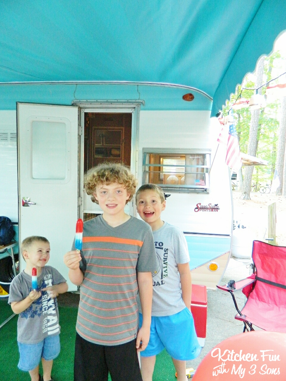 Kitchen Fun With My 3 Sons Camping With Popsicle S Including A Popsicle Giveaway