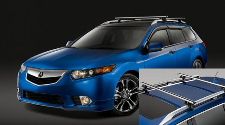 Accessories Acura TSX Sport Wagon Exterior Cross Bars | variouscar on