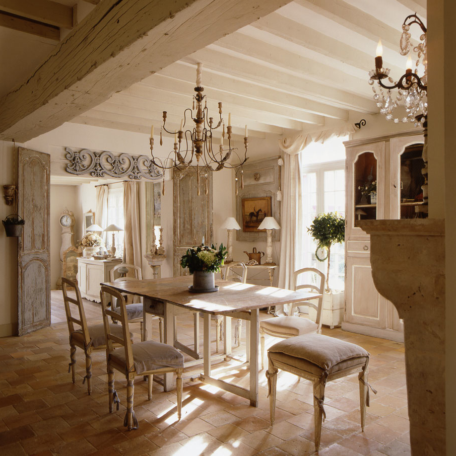 Shabby and charme una stupenda casa french style - Casa country style ...