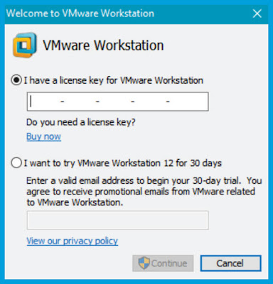 how to get license key for vmware workstation