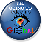 I'm Going to edcamp Global!