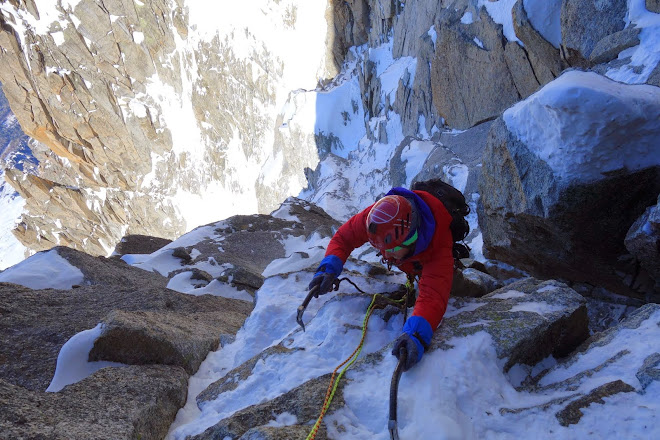 The cold world of skimo & alpine climbing