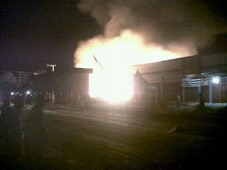 berita kebakaran di Barito Kuala Kalimantan Selatan