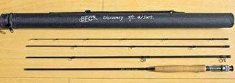 BFC Fliegenrute mit Rohr