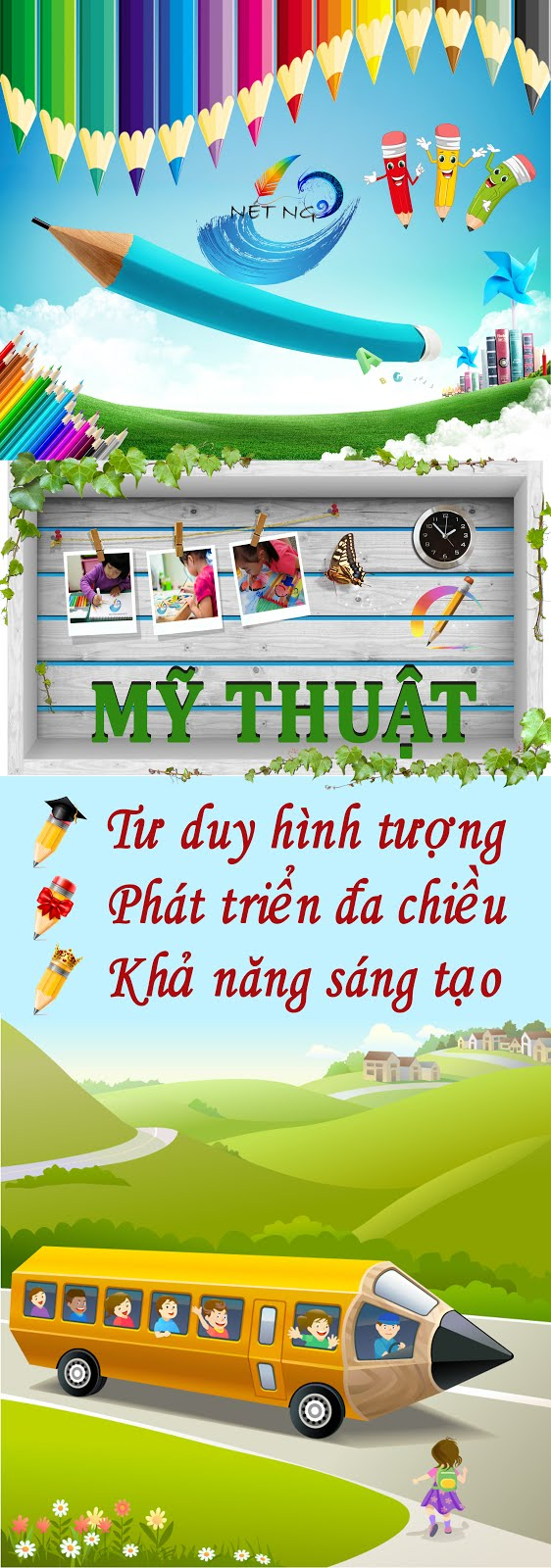 MỸ THUẬT TƯ DUY NÉT NGỘ