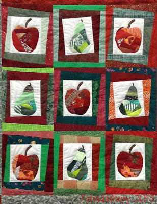 Up the Old Apples and Pears' Quilt - South West Quilters