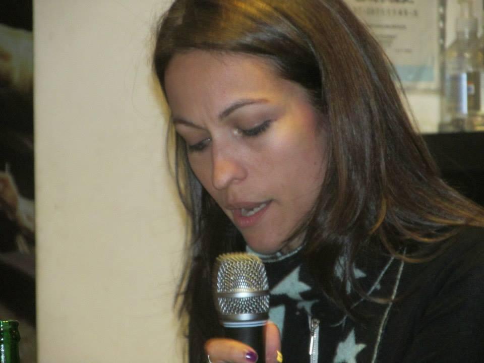 Lectura en La Bandada, Café Literario (Córdoba, 2014)
