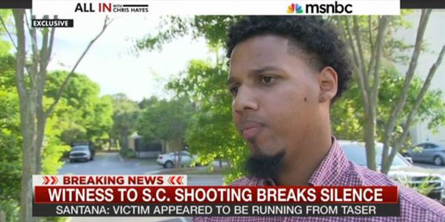 Dominicano que grabó video de la muerte de hombre negro tiroteado por la espalda